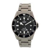 Tudor pre-owned Automatic 42mm Black Sapphire Glass 50 ATM