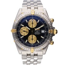 Breitling Crosswind Racing Gold/Steel 43mm Roman numerals