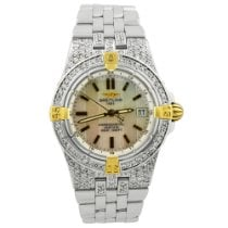 Breitling Starliner Gold/Steel 30mm Mother of pearl No numerals United States of America, California, Fullerton