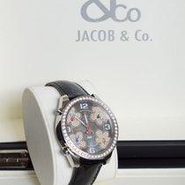 Jacob & Co. Çelik Quartz Jacob & Co. five time zone JC-ATH10 yeni