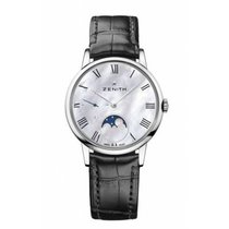 Zenith new Automatic Small Seconds 36mm Steel Sapphire crystal
