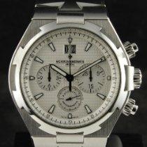 Vacheron Constantin Overseas Chronograph Otel 42mm Argint Fara cifre