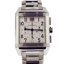 Jaeger-LeCoultre Reverso Squadra Chronograph GMT Steel 35mm Silver United States of America, New York, New York