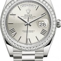 Rolex Day-Date 40 Unworn White gold 40mm Automatic United States of America, New York, Airmont
