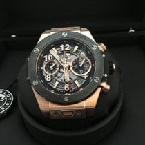 Hublot Big Bang Unico Oro rosado 45mm Negro