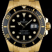 Rolex Unworn  Submariner Date Gents Gold