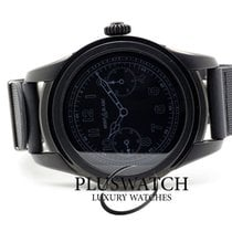Montblanc Summit Steel 44-47mm Black Arabic numerals
