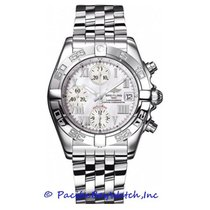 Breitling Chrono Galactic Steel 39mm Mother of pearl Roman numerals United States of America, California, Newport Beach