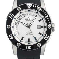 Edox Class-1 Steel 47mm White No numerals