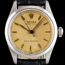 Rolex Steel 34mm No numerals