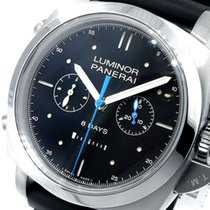 Panerai Unworn  Pam 530 Luminor 1950 8 Days 47 Mm Titanium Pam...