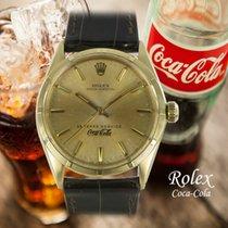 Rolex Oyster Perpetual 34 Gelbgold 35mm Gold Keine Ziffern Deutschland, München