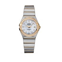 Omega Constellation Co-Axial 27mm 123.25.27.20.55.002 - Unworn...