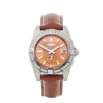 Breitling Galactic 36 Acero 36mm Rosa