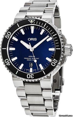 Oris Aquis Date 73377304135MB new