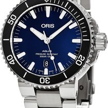Oris Aquis Date Steel Blue United States of America, New York, Brooklyn