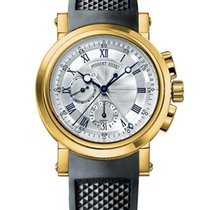 Breguet Yellow gold 42mm Automatic 5827BA/12/5ZU new