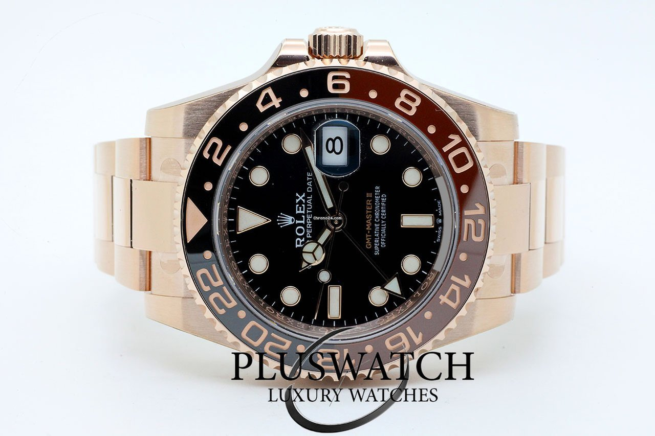 Rolex Gmt Master Ii Rose Gold All Prices For Rolex Gmt Master Ii