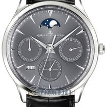 Jaeger-LeCoultre Master Ultra Thin Perpetual White gold 39mm Grey United States of America, New York, Airmont
