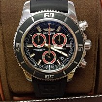 Breitling Superocean Chronograph M2000 Red - Box & Papers 2012