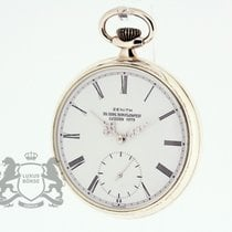 Zenith Silver Manual winding White Roman numerals 49mm pre-owned