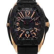 Franck Muller 42mm Automatic 2016 pre-owned Conquistador GPG Black