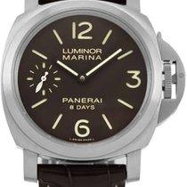 Panerai Luminor Marina 8 Days Titanium 44mm Brown Arabic numerals United States of America, New York, New York