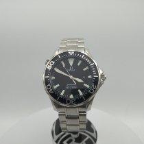 Omega 41mm Кварцевые 2010 подержанные Seamaster Diver 300 M Чёрный