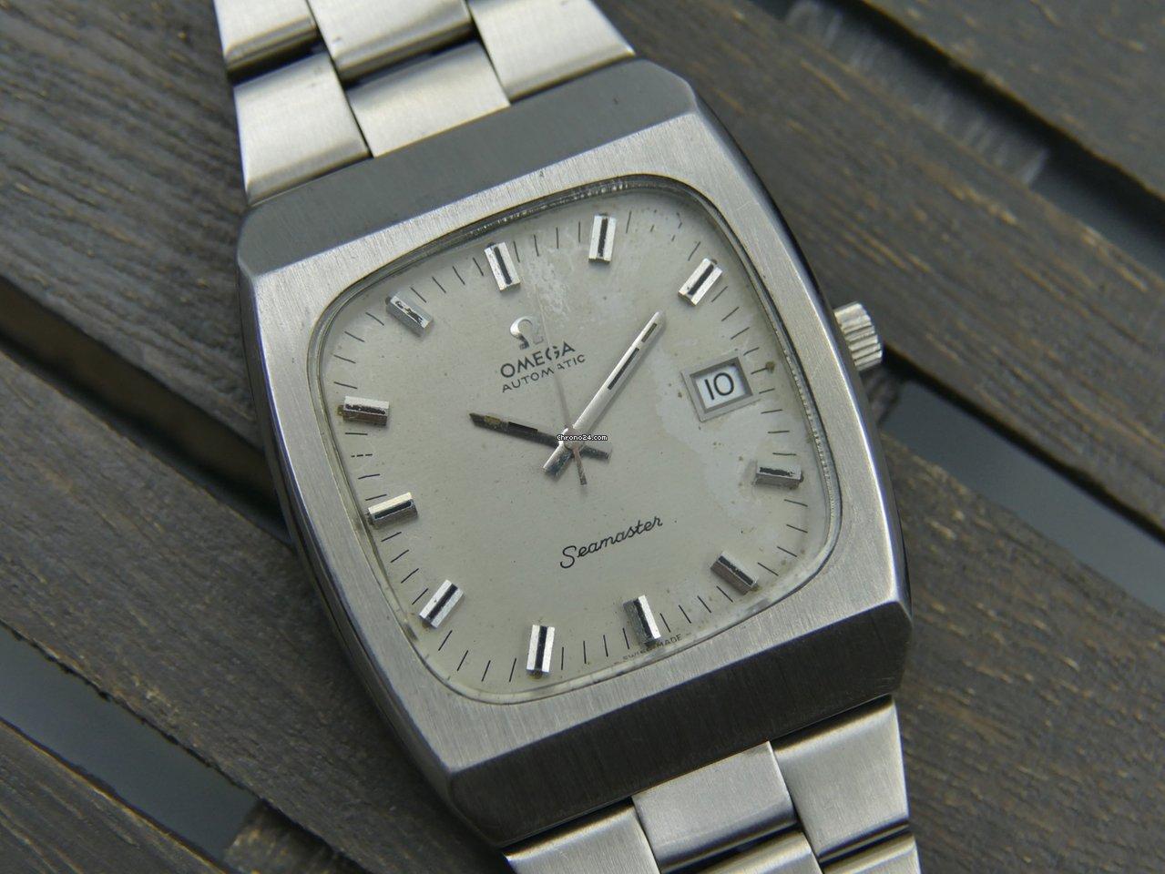 e8a2fd1ed5a Relógios Omega Seamaster usados