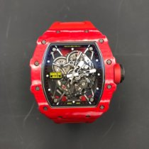Richard Mille 49.94mm Automatic 2018 pre-owned RM 035 Transparent