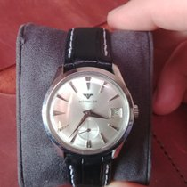 Wittnauer 34mm Manual winding 1965 pre-owned Silver