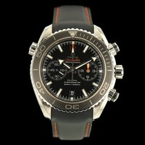 Omega Seamaster Planet Ocean Chronograph gebraucht 45.5mm Stahl