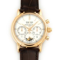 Patek Philippe 5204R-001 Red gold 2016 Perpetual Calendar Chronograph 40mm pre-owned United States of America, California, Beverly Hills