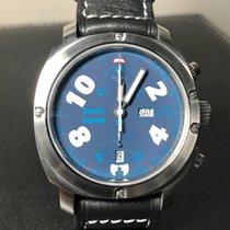 Anonimo Cronoscopio Stahl 42mm Blau