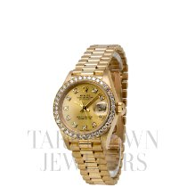Rolex Lady-Datejust Yellow gold 26mm Champagne United States of America, New York, Hartsdale