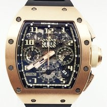 Richard Mille RM 011 Rose gold 50mm Transparent Arabic numerals