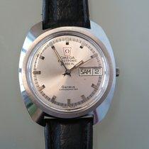 Omega Genève Stahl 41mm Schwarz