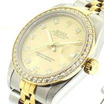 Rolex Lady-Datejust Or/Acier 31mm Champagne