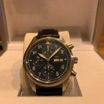 IWC Pilot Chronograph Staal 42mm Blauw Arabisch Nederland, Leusden
