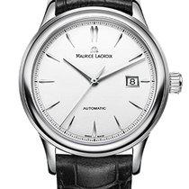 Maurice Lacroix Les Classique Date Silver Index, Black...