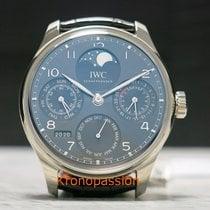 IWC Portuguese Perpetual Calendar nieuw 2018 Automatisch Horloge met originele doos en originele papieren IW503301