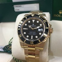 Rolex Cally - 116618LN Submariner Yellow Gold Black dial [NEW]