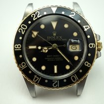 Rolex GMT 16753 steel & 18k w/original papers & card...