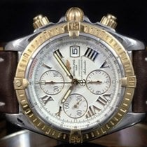 Breitling Chronomat Evolution Золото/Cталь 44mm