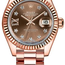 Rolex new Automatic Screw-Down Crown 28mm Rose gold