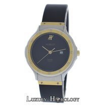 Hublot Ladies Hublot MDM Geneve Classic Steel 18K Gold Quart