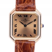 Baume & Mercier Ladies 18kt Gelbgold Handaufzug Armband...