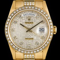 Rolex Day-Date Gold Diamond Set 18348