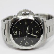 Panerai Luminor 1950 3 Days GMT Automatic pre-owned 44.5mm Steel