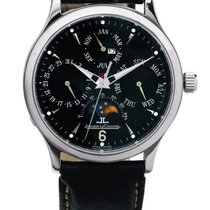 Jaeger-LeCoultre | A Stainless Steel Automatic Perpetual...